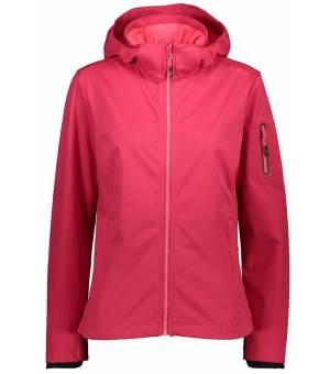 CMP Woman Jacket Zip Hood Bunda B880 Červená