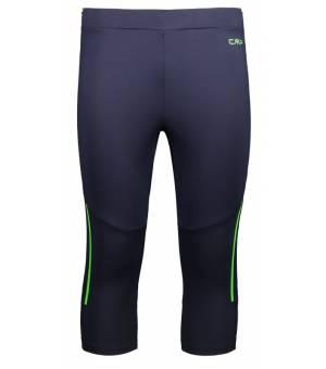 CMP Man 3/4 Pant Black Blue N950 nohavice modré