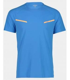 CMP Man T-Shirt  Tričko L839 Tyrkysové