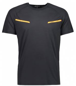 CMP Man T-Shirt  Tričko U423 Čierne