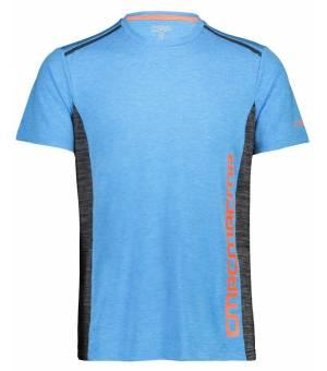 CMP Man T-Shirt Tričko L724 Tyrkysové