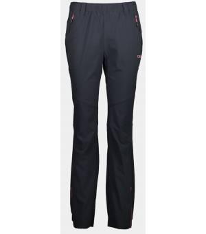 CMP Woman Long Pant Nohavice U423 Čierne