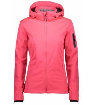 CMP Woman Jacket Zip Hood Bunda B357 Ružová
