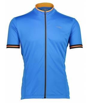 CMP Man Bike T-Shirt Cyklodres L839 Tyrkysový