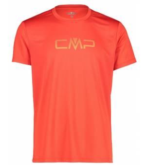 CMP Tričko s Logom CMP M Oranžové
