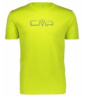 CMP Tričko s Logom CMP M Žlto/Zelené