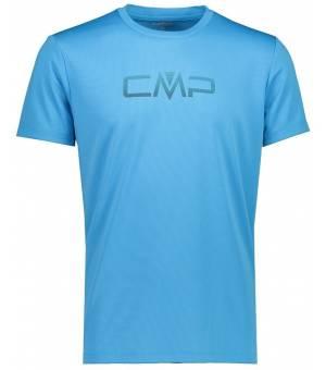 CMP Tričko s Logom CMP M Tyrkysové
