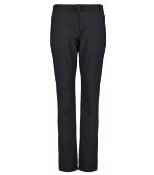 CMP Woman Long Pant Nohavice Čierne U423