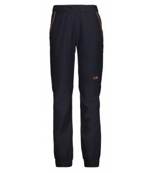 CMP Kid Long Pant Antracite U423 nohavice sivé