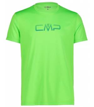 CMP Tričko s Logom CMP M Svetlo Zelené
