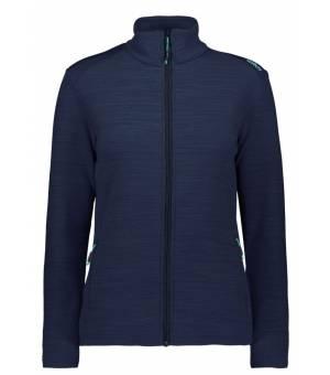 CMP Woman Jacket Mikina M947 Modrá