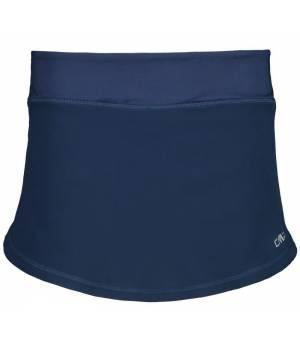 CMP Woman Skirt With Inner Shorts Sukňa 19MG Modrá