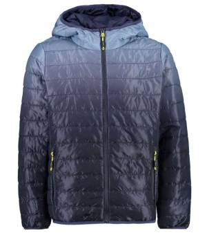 CMP Kid Fix Hood Jacket Bunda N985 Modrá