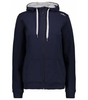 CMP Woman Fix Hood Jacket Mikina M982 Modrá