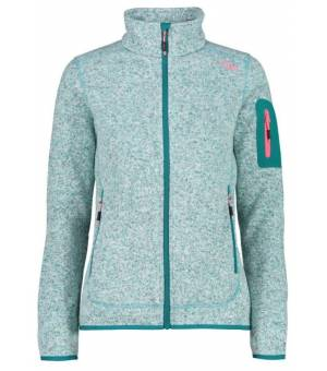 CMP Woman Fix Hood Jacket Mikina E656 Zelená