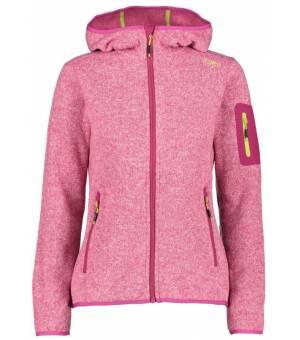 CMP Woman Fix Hood Jacket 29HC Ružová