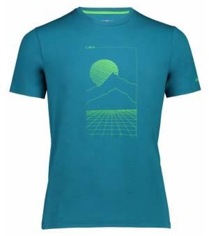 CMP Man T-Shirt Tričko E982 Zelené