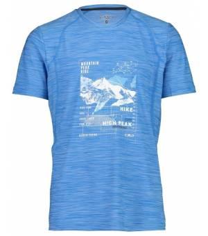 CMP Man T-Shirt Tričko Tyrkysové L832