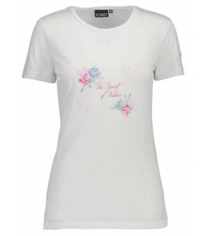 CMP Woman T-Shirt Tričko 26XG Biele