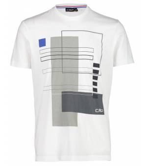 CMP Man T-shirt Bianco A001tričko biele