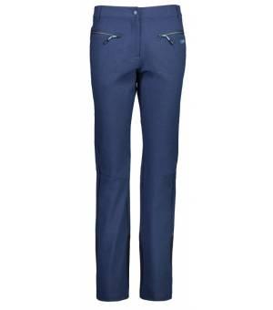 CMP Woman Long Pant Blue Denim 730N nohavice modré