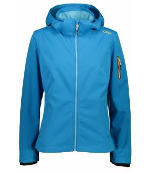 CMP Woman Jacket Zip Hood Bunda L716 Modrá