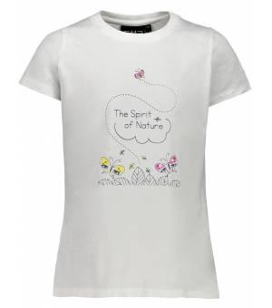 CMP Kid G T-Shirt Tričko 17XG Biele
