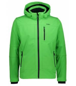 CMP Man Zip Hood Jacket Bunda E629 Zelená