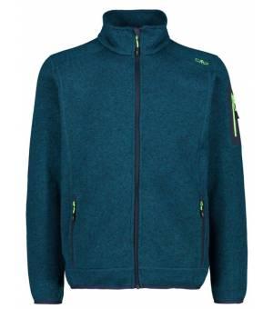 CMP Man Jacket Mikina 02EG Zelená