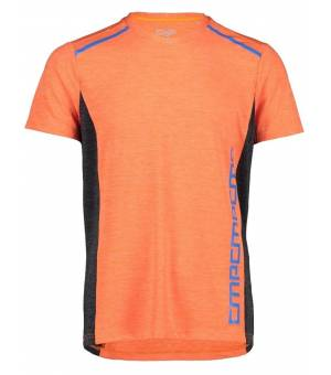 CMP Man T-Shirt Tričko Oranžové C706