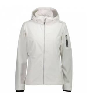 CMP Woman Jacket Zip Hood Bunda 00XG Biela
