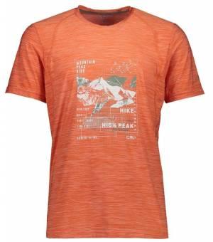 CMP Man T-Shirt Tričko Oranžové C711