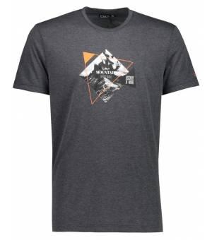 CMP Man T-Shirt Tričko U817 Sivé