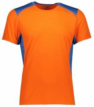 CMP Man T-Shirt Tričko 07CG Oranžové