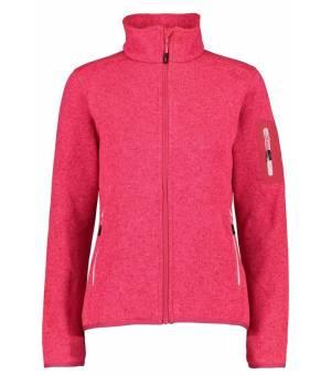 CMP Woman Fix Hood Jacket Mikina 13CG Červená