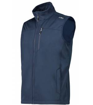 CMP Man Vesta Softshell Modrá N985