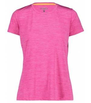 CMP Woman T-Shirt Tričko H620 Ružové Bouganville