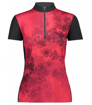 CMP Woman Bike T-Shirt Tričko 32CG Červené