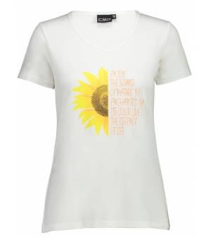 CMP Woman T-Shirt Tričko A001 Biele Bianco