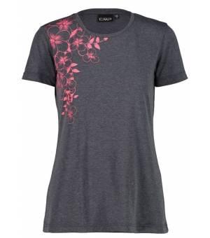 CMP Woman T-Shirt Tričko Sivé U817