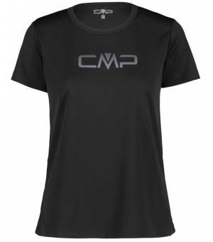 CMP W Tričko S Logom CMP Čierne