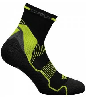 CMP Running Top Mid Sock Ponožky 63UE Zelené