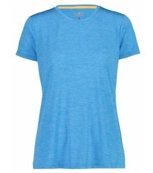 CMP Woman T-Shirt Tričko L716 Tyrkysové
