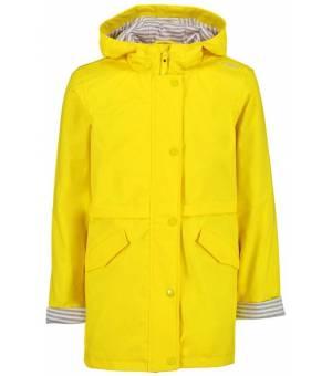 CMP Kid Rain Fix Hood Jacket Pršiplášť R411 Žltý