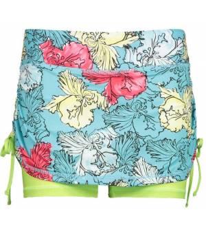 CMP Woman Skirt With Inner Shorts Sukňa 28LG Zelená
