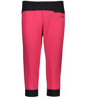 CMP Woman Capri 3/4 Nohavice B880 Ružové