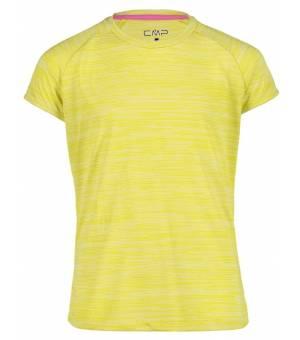 CMP Kid G T-Shirt Tričko R460 Žlté