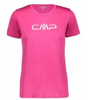 CMP W Tričko S Logom CMP H820 Ružové