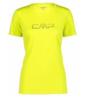 CMP W Tričko S Logom CMP R304 Žlté