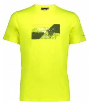 CMP Man T-Shirt Tričko R334 Žlté